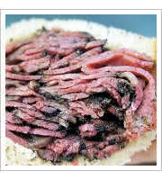 Pastrami on Rye at Bens Best Deli