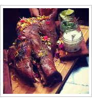 Pig Head Platter at Vida Cantina