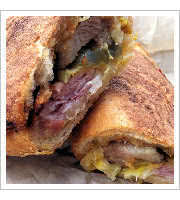 Pork Belly Cubano at Bunk Sandwiches