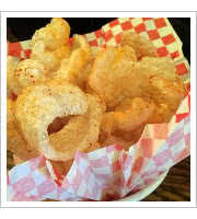 Pork Rinds at Highland Tavern