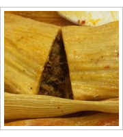 Pork Tamales at The Tamale Place