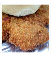 Breaded Pork Tenderloin Sandwich at Smokey Ds BBQ