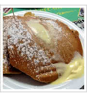 Pumpkin Pancakes at The Dor-Stop Restaurant