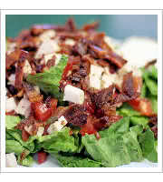 Ranch BLT Salad at Dish Cafe and Catering