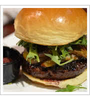 Shogun Burger at Bachi Burger