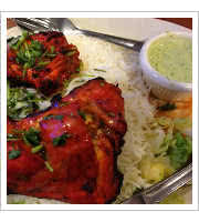 Tandoori Chicken Tikki at Curry Corner