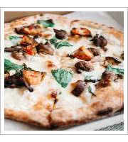 Tartuffo Pizza at Pizzeria Credo