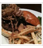 The Standard Burger at Standard Diner