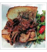 Tri-Tip Sandwich at Schellville Grill