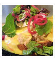Tuna Melt at Hullabaloo Diner