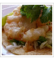 Wild Shrimp Tacos at Cosecha