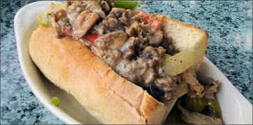 Half Cheesesteak