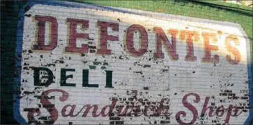 Defontes Sandwich Shop in Brooklyn