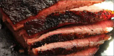 Smoked Prime Barbecue Brisket