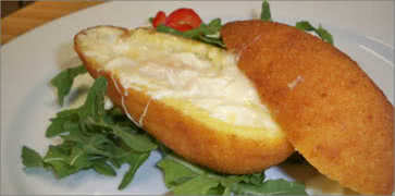 Arancine with Crabmeat