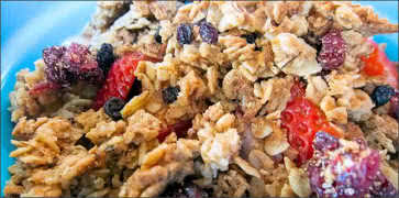 Granola and Fruit Yogurt