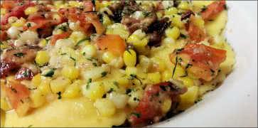 Lobster Ravioli with Sweet Corn