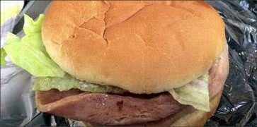 Taylor Pork Roll Sandwich