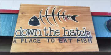 Down the Hatch in Lahaina