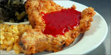 Fried Pork Chop with Red Sauce