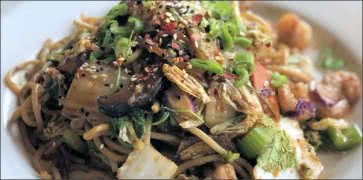 Dragon Noodle Stir Fry