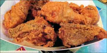 Fried Whole Chicken