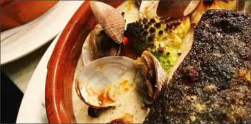 Black Cod with Clams