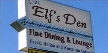 Elfs Den Restaurant and Lounge in North Pole