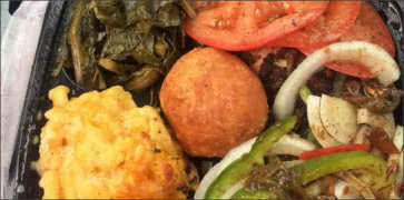 Enas Caribbean Kitchen Food
