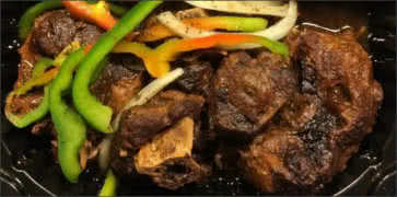 Oxtail with Peppers