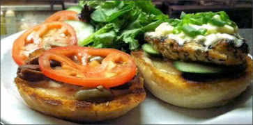 Mediterranean Chicken Sandwich