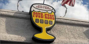Four Kegs Sports Pub in Las Vegas