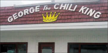 George the Chili King Drive-In in Des Moines