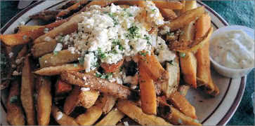 Greek Garlic Fries