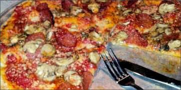 Sicilian Red Pizza