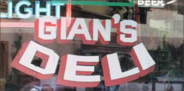 Gian's Deli in Stockton