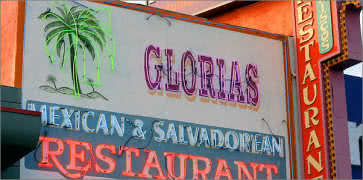 Glorias Cafe in Los Angeles
