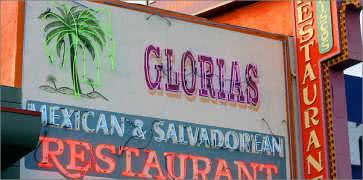 Glorias Cafe in Los Angeles