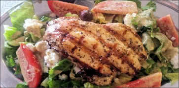 Athenian Chicken Salad
