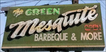 Green Mesquite BBQ in Austin