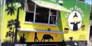Green Papaya Food Truck in Stockton