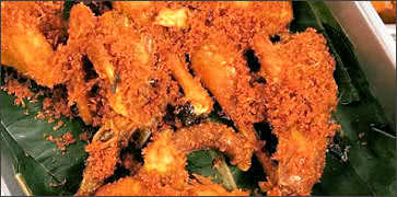 Indonesian Ginger Fried Chicken