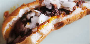 Harolds Chili Dog
