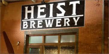 Heist Brewery in Charlotte