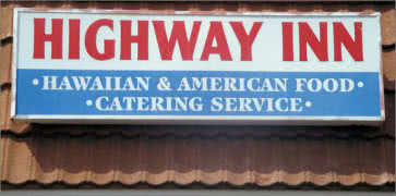 Highway Inn in Waipahu
