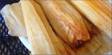 Hot and Spicy Pork Tamale