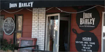 Iron Barley Eating Establishment in St. Louis