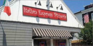 Itlian Express Pizzeria in East Boston