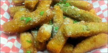 Deep Fried Zucchini Sticks Appetizer