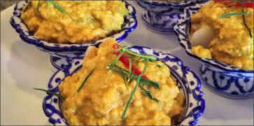 Fish Curry Custard